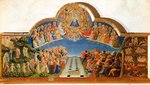 The Last Judgement, altarpiece from Santa Maria degli Angioli, c.1431 Poster Art Print by Fra Angelico