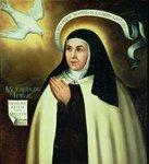 St. Theresa of Avila Poster Art Print by Domenichino