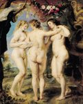 The Three Graces, c.1636-39 Poster Art Print by Gasparo Lopez