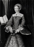 Portrait of Elizabeth I when Princess Poster Art Print by William the Younger Holl