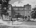 Marlborough House, from the garden, 1863 Poster Art Print by John Buckler