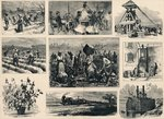 Cotton: its Cultivation and Preparation in America Poster Art Print by American School