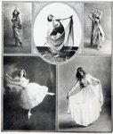 Five Ballet Dancers Poster Art Print by Hilary Dunne