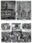 The Agitation in Ireland, illustrations from 'The Graphic', December 6th 1879 Poster Art Print by Charles Monnet