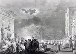 Riot in Broad Street, June 1780 Poster Art Print by English School