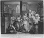 Married to an Old Maid, plate V from 'A Rake's Progress', 1735 Poster Art Print by William Hogarth