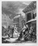 Times of the Day, Morning, 1738 Poster Art Print by William Hogarth