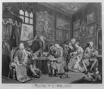 Marriage a la Mode, Plate I, The Marriage Settlement, 1745 Poster Art Print by William Hogarth
