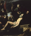 The Martyrdom of St. Andrew, 1628 Poster Art Print by El Greco