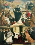 The Apotheosis of St. Thomas Aquinas, 1631 Poster Art Print by Niklaus Manuel