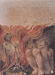 "Book of Urizen; ""from the caverns of his jointed spine', 1794 Poster Art Print by William Blake"