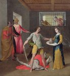 The Beheading of St. John the Baptist Poster Art Print by Sano di, also Ansano di Pietro di Mencio Pietro