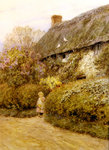 Freshwater Cottage Poster Art Print by Abraham Furnerius