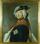 Frederick II the Great of Prussia Poster Art Print by Georg Wenceslaus von Knobelsdorff