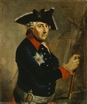 Frederick II the Great of Prussia, 1764 Poster Art Print by Georg Wenceslaus von Knobelsdorff