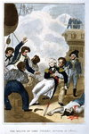The Death of Lord Nelson Poster Art Print by Benjamin West