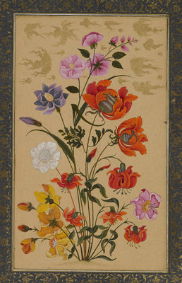 Exotic flowers Poster Art Print by Muhammad Khan