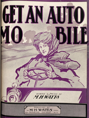 Get an automobile by William H Tyer - print