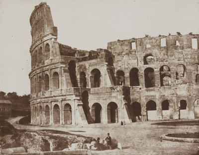 The Colosseum by Rev. Calvert Richard Jones - print