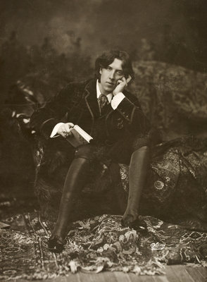 Portrait of Oscar Wilde by Napoleon Sarony - print