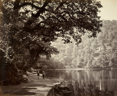 Nainital by Samuel Bourne - print