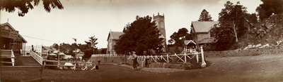 Holy Trinity Church, Murree, 1900s. by Thomas Higham - print