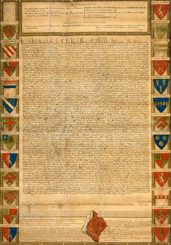King John Magna Carta
