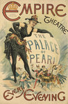 The Palace of Pearl at the Empire Theatre Poster Art Print by Anonymous