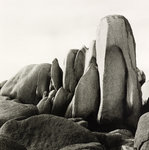 White Rocks Poster Art Print by Fay Godwin