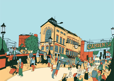 Camden by Sweet View - print