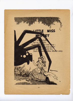 Little miss arachnaphobia by Anthony Peters - print
