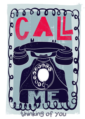 Call Me by Paul Collis - print