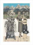 Robot Collage III by John Akehurst - print