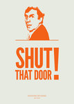 Shut that Door! by Ministry of Words - print
