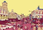 Wandsworth by Sweet View - print
