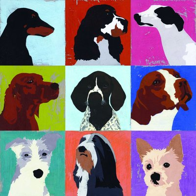 Woof! by Andy Bridge - print