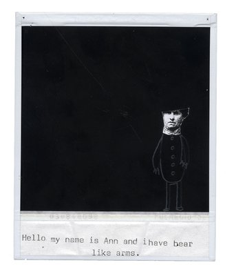 My Name is Ann by Ben Raynor - print
