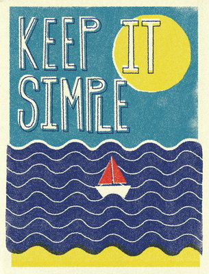 Keep It Simple by Dale Edwin Murray - print