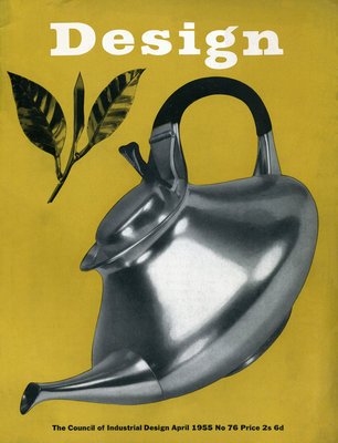 Tea Pot, 1955, Design Magazine by Vintage by Hemingway - print