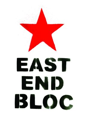 East End Bloc by DRD - print