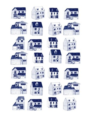 Barratt Homes by Hanna Melin - print
