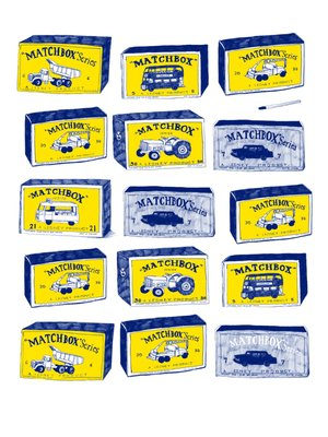 Lesney Matchbox Factory by Hanna Melin - print