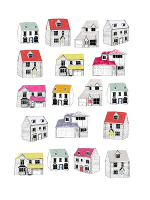 My Street by Hanna Melin - print