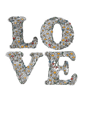 Love by Hanna Melin - print