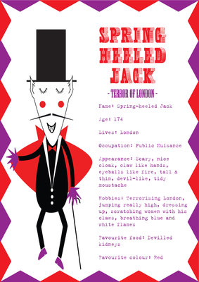 Spring Heeled Jack by Nicole Thompson - print