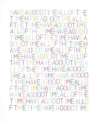 Have a Good Time by Claudia Tate - print