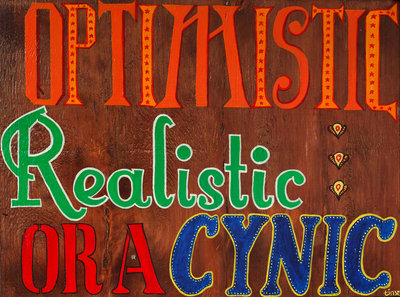 Optimistic by Tinsel Edwards - print