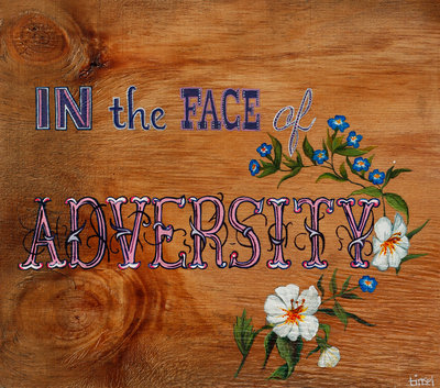 Adversity by Tinsel Edwards - print