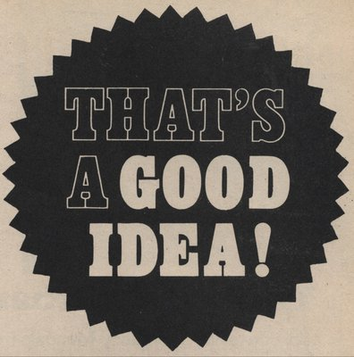 That's A Good Idea! by Vintage by Hemingway - print