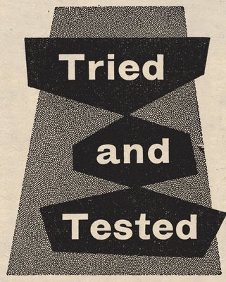 Tried and Tested by Vintage by Hemingway - print